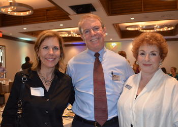 Jill Levine, Southeastern Guide Dog Co-Founder Harris Silverman and Marjorie Singer