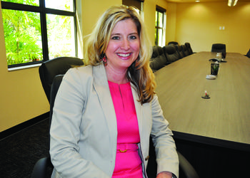 Heather Kasten will start as the Lakewood Ranch Business Alliance's new executive director May 12. She currently serves as Sarasota Chamber of Commerce's vice president of membership. Photo by Josh Siegel