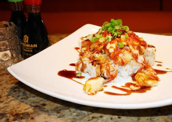 Along with sushi, Pacific Rim offers a variety of fusion foods, including steak, lobster and grilled fish.