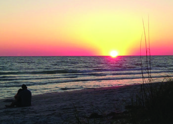 Corey Shaul submitted this sunset photo, taken at Beach Harbor Club.