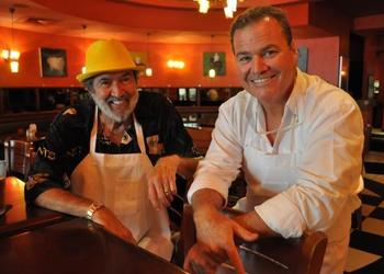 File photo Spyder Broussard and Polo Grill owner Tommy Klauber look forward to working the event together each year.