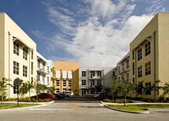 Artspace has developed one project in Florida to date, the Sailboat Bend lofts in Ft. Lauderdale.