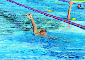 Riverview graduate Alex Katz is one of roughly 375 swimmers involved in the Sarasota Sharks program. File photo