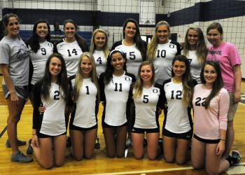 The Out-of-Door Academy volleyball team improved to 2-0 in district play.
