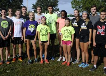 The Lakewood Ranch girls and boys cross-country teams finished third and fourth, respectively, at the Class 3A-Region 3 meet Nov. 7, in Estero.