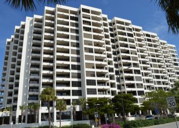 Unit 1403 at Bay Plaza has two bedrooms, two baths, 1,565 square feet of living area and sold for $810,000. File photo