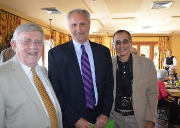 President Murray Blueglass, keynote speaker Rob Lorei and Vice President Howard Veit