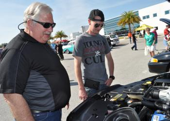 Lou Gagliardi answer's Sam Deangelo's questions about the engine in his 2014 Ford.