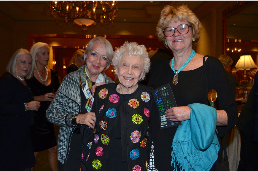 Barbara Campo, Betty Pike and Anne Moffitt