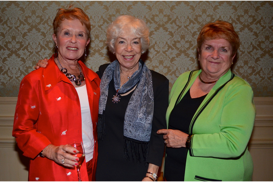 Kathy Gallo, Janet Parker and Judy Huth