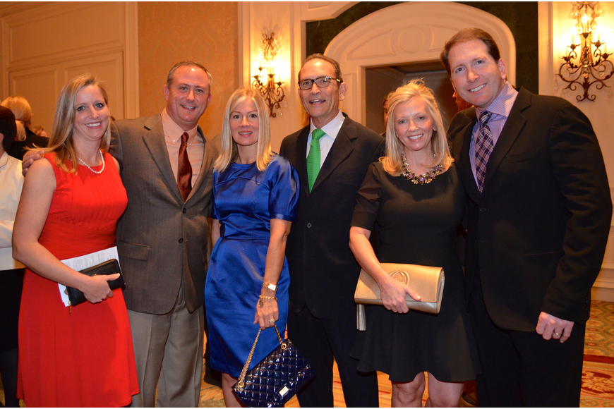 Kristin and Todd Morton, Amy and Ken Sussman and Crystal and Dr. Bill Lahners