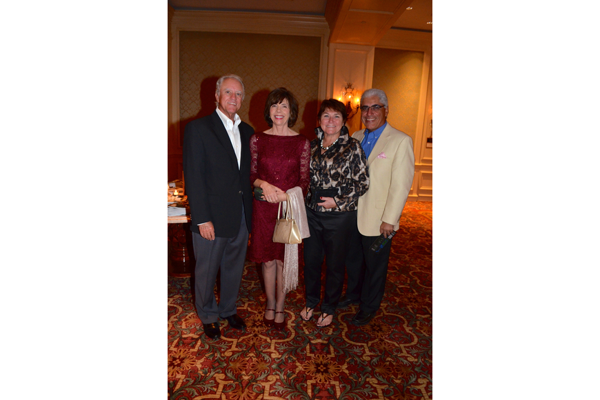 Jerry and Pam Stephens with Fran and Thom Mastrelli
