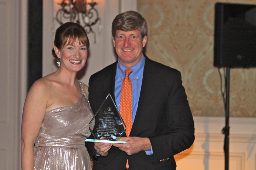 Co-Chairwoman Emily Walsh Parry and 2012 Luminary Award honoree