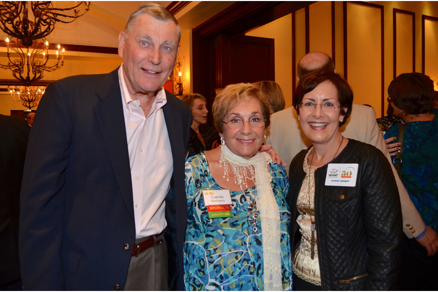 Ted Shears, Carole Kleinberg and Susan Geiger