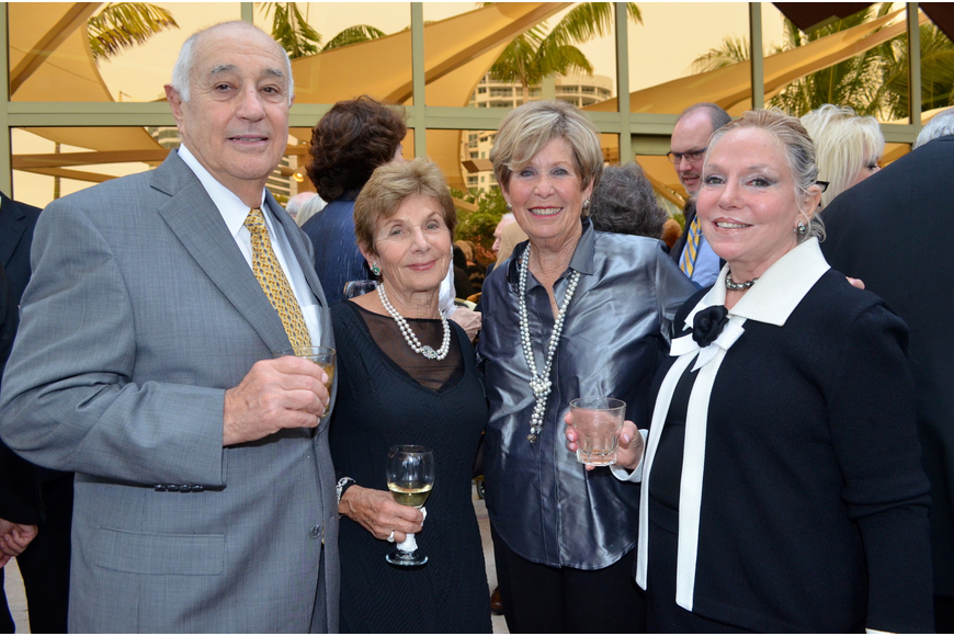 Ron Fisher, Marilyn Shuman, Bette Hoffman and Sophia Fisher