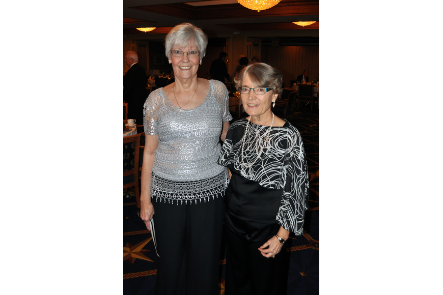 Chairwomen Jeanne Yeagle and Syble Di Girolamo