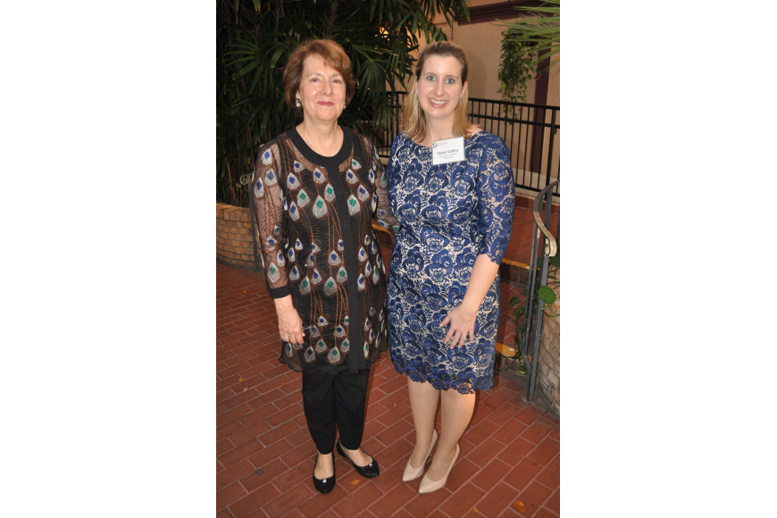 Susan Scott, executive director, and chairwoman Taylor Collins