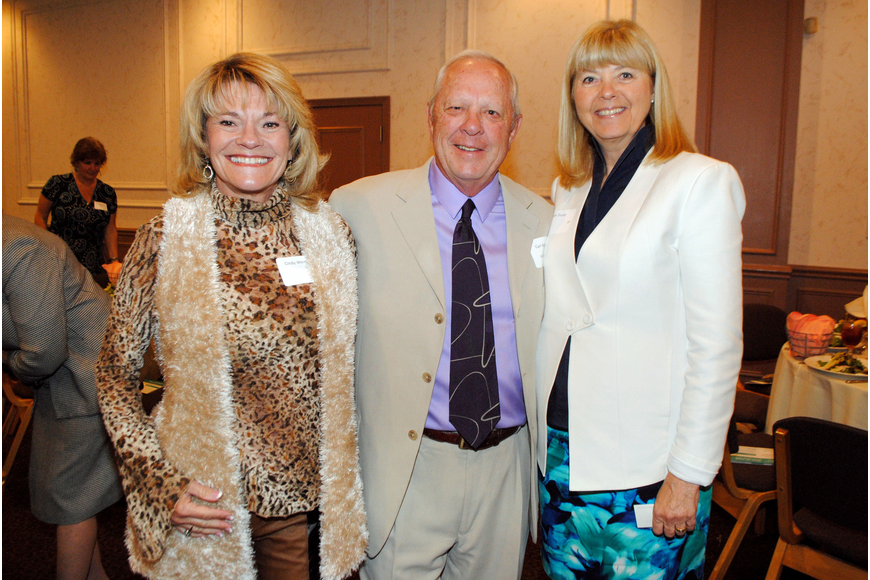Cindy and Carl Weinrich with Pam Truitt