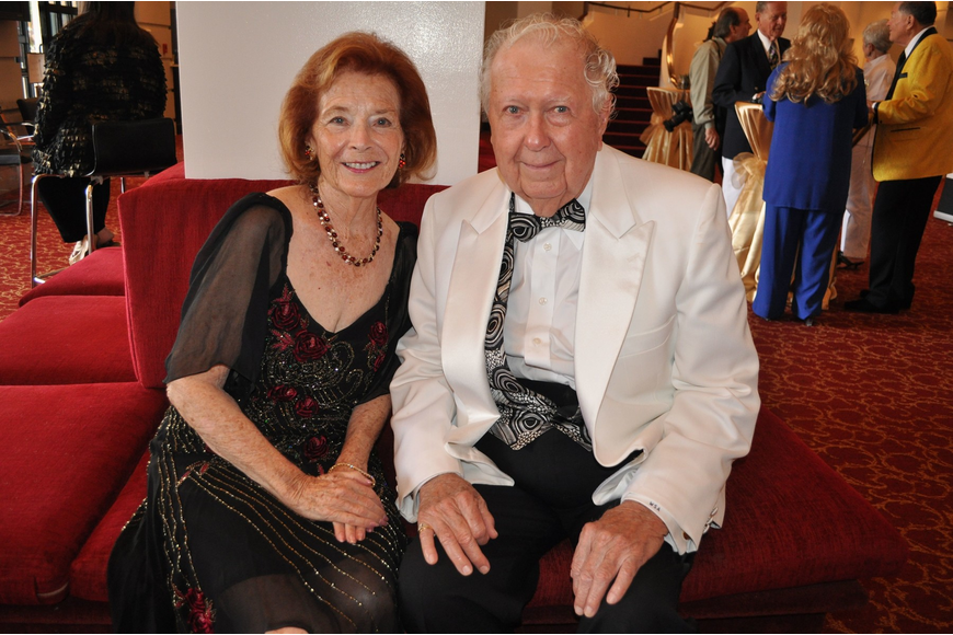 Honorary chairwoman Ruth Kreindler and Wendell Anderson