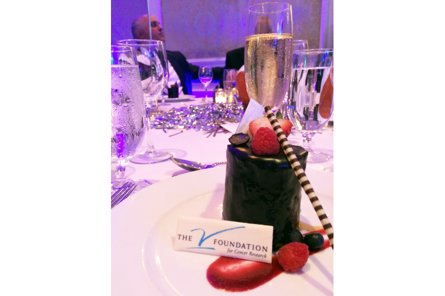 The dessert at the 9th annual Dick Vitale Gala