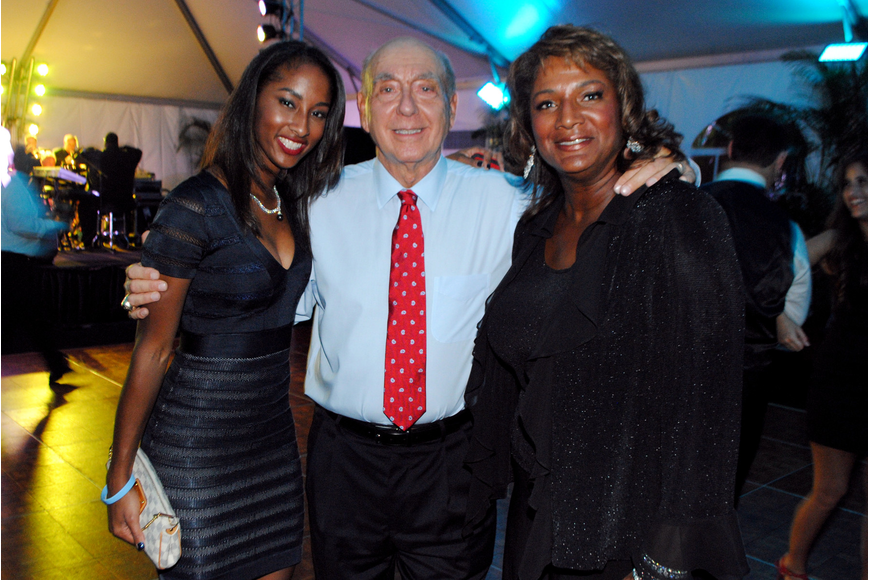 Erica Sherman, Dick Vitale and Annette Sherman