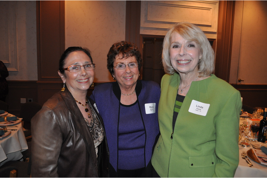 Ann Friedman, Rona Simon and Linda Feins