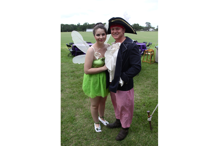 Daisy Lora as Tinkerbell with Forrester White