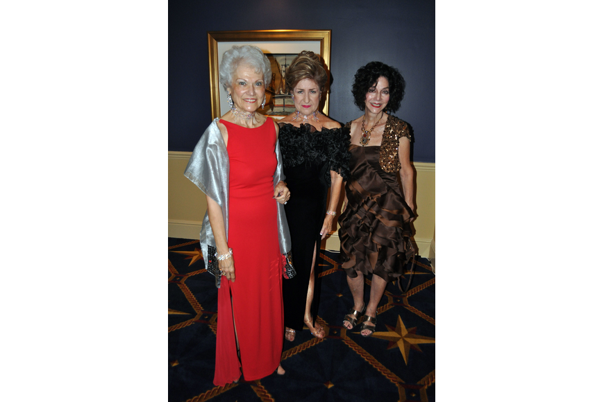 Frances Vitale, Gail Briley and Elissa Soyka