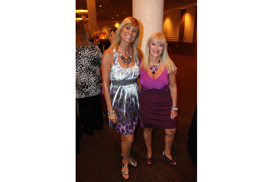 Sandy Bellino and Wendy Circone