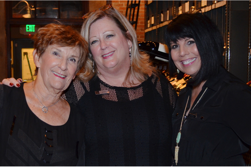 Marie Noell Cerene, Vicki Cole and DiDi Zudar from Saks Fifth Avenue.