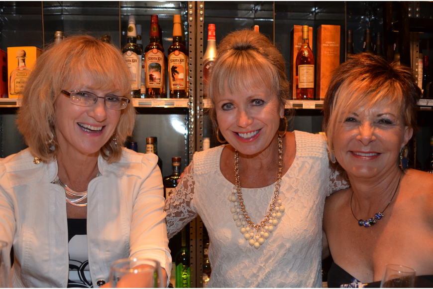 Lydia Kolbas, Marian Wolfe and Diane Brune