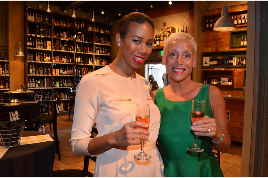 Rochelle Nigri with host Julie Pepi from Southern Wine & Spirits.