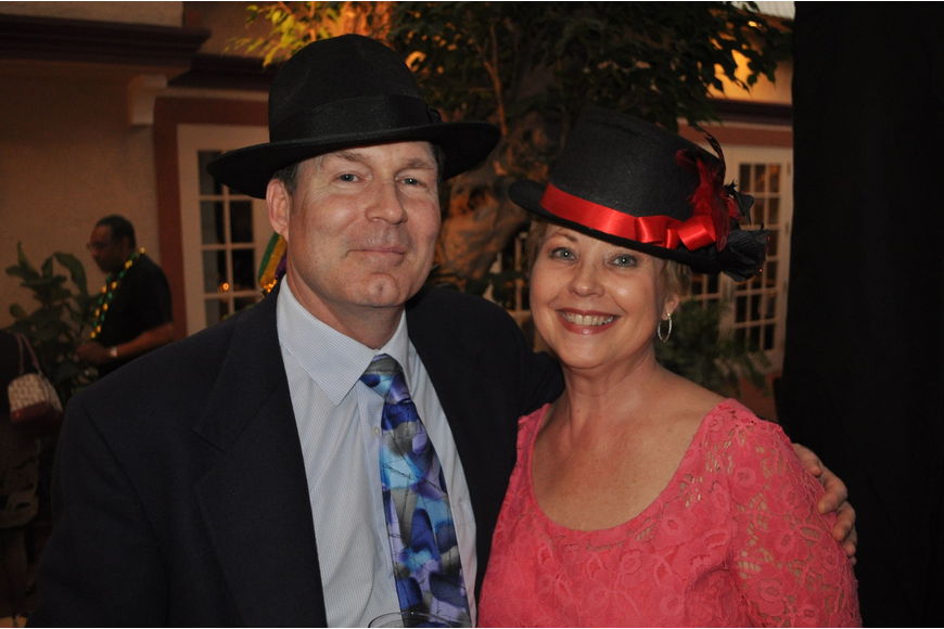 Charles Meyer and Susan Neaves