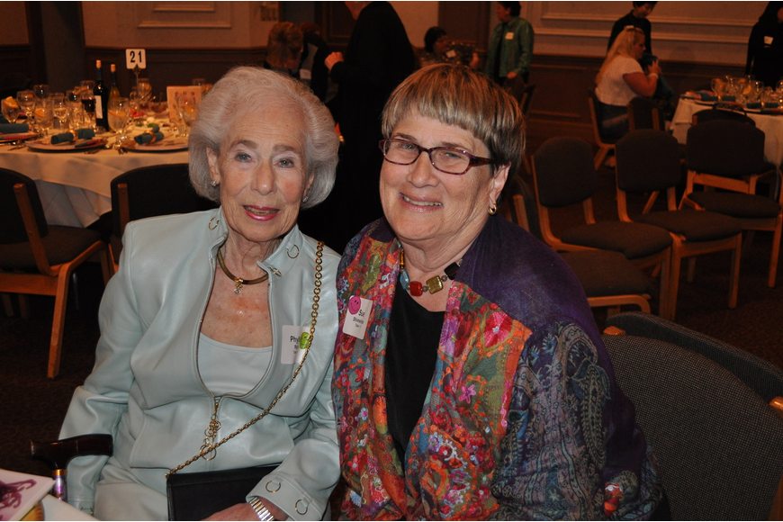 Phyllis Rich and Sue Shimelman