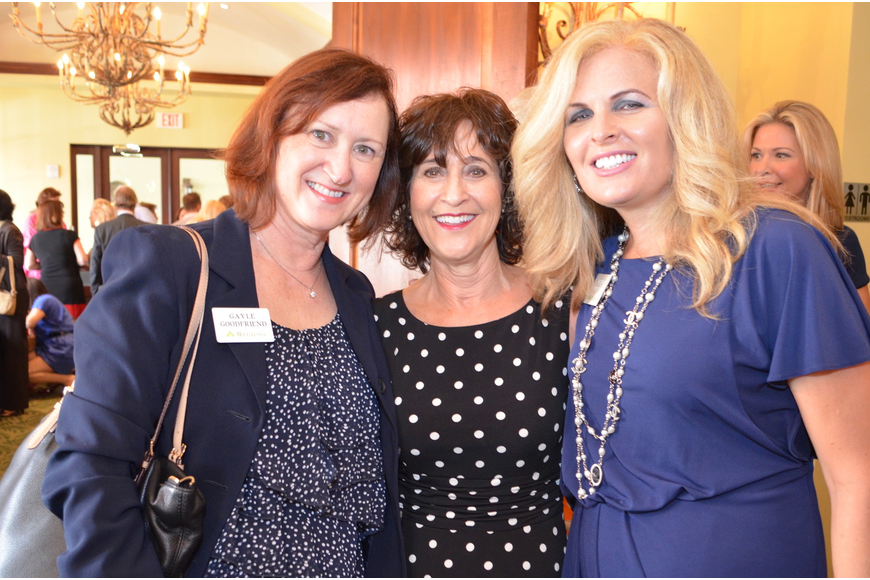 Gayle Goodfriend, Gail Shane and Leslie Lauritano