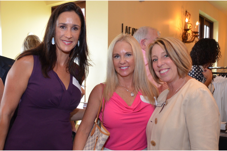 Kelly Quigley, Therese Masseo and Teri Herrington