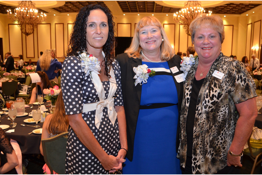 Alisa Westberry, Kathleen Strobel and Sue Pommenville