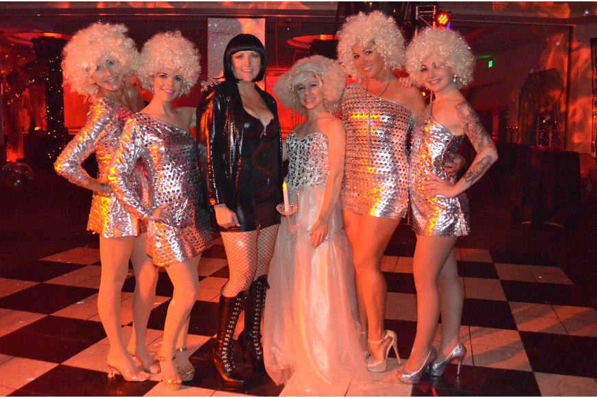 Silver Bebe, Miss Petite Coquette, Lady La La, Christina Fraser, Whiskey Lily and Gypsy Allure