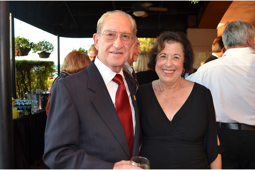 Bert Fiuelson and Marcia Frankel