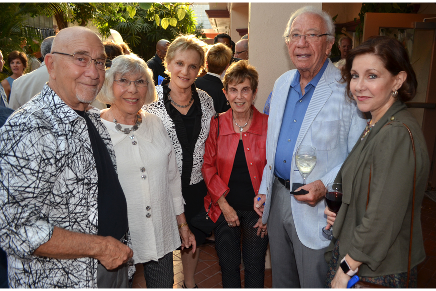 Marvin Albert, Gerri Aaron, Charlotte Perret, Nancy Roucher, Charles Perret and Patricia Caswell