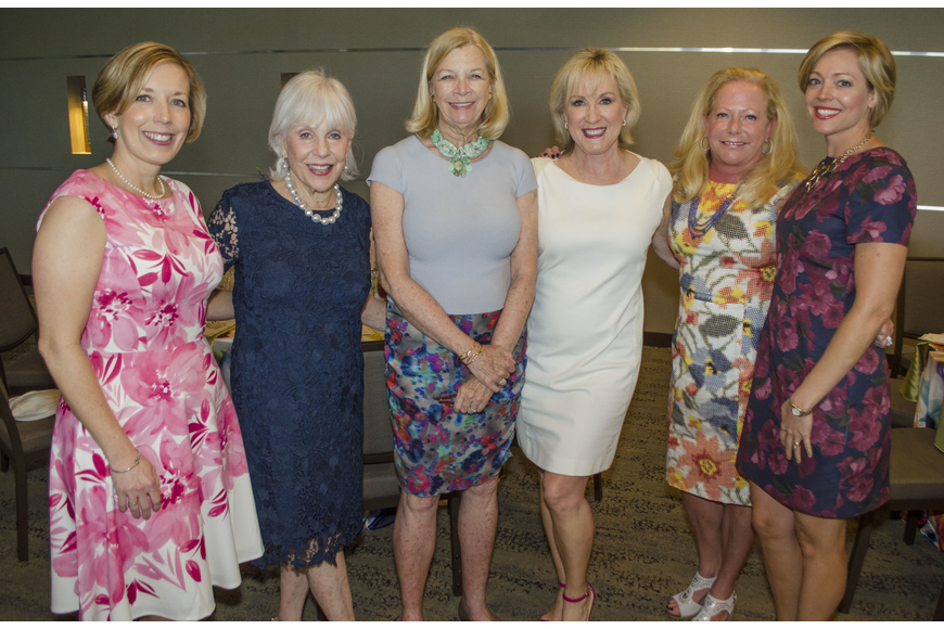 Wendy Deming, Margie Barancik, Ann Charters, Teri Hansen, Marianne McCombs and Kelly Romanoff