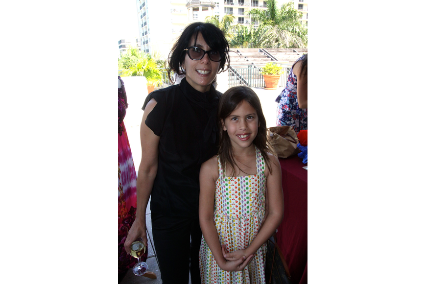 Jacquie Florio with her daughter Avery Florio, 8.
