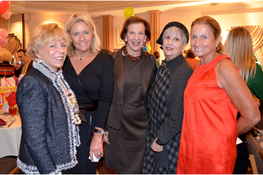 Ellen Esposito, Angela Stowe, Sue Jacobson, Sylvia Pastor and Mary Ann O'Neal