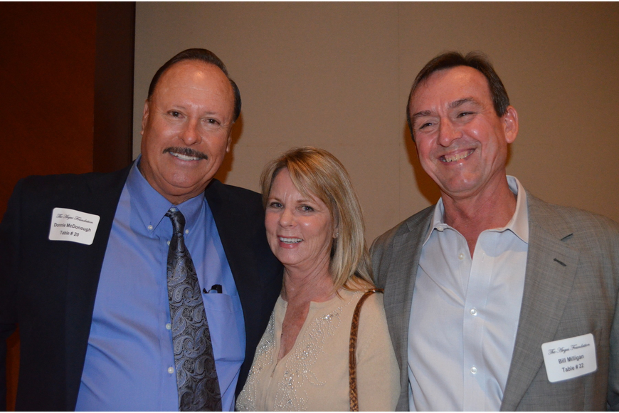 Don McDonough, Dianne Lagasse and Bill Milligan
