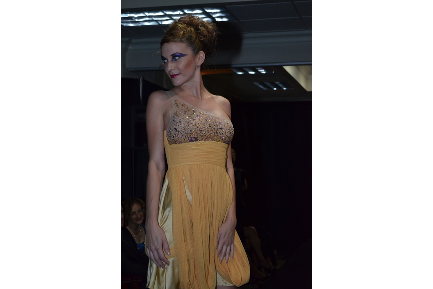 Models wore designs from Planet Togs.