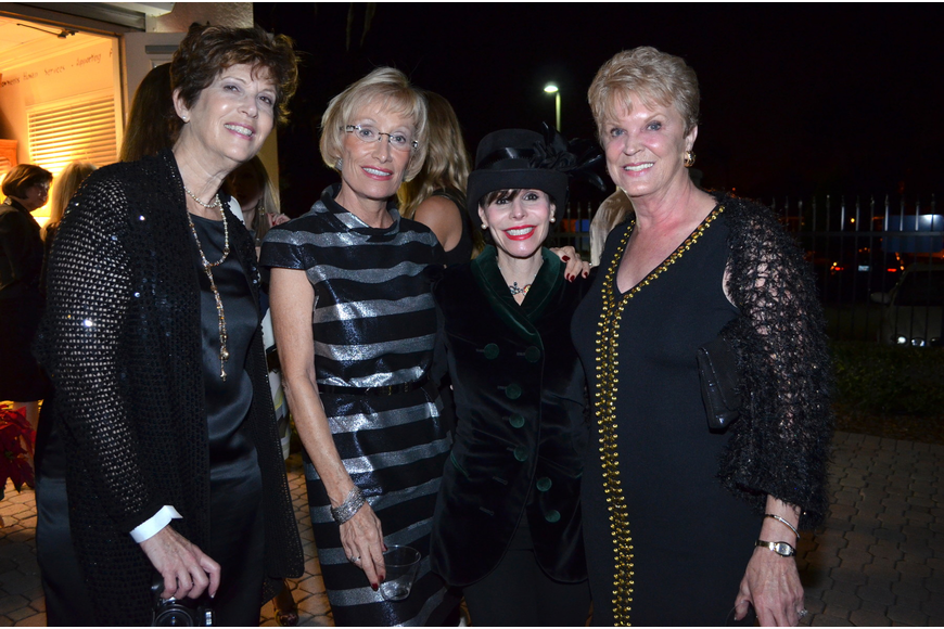 Laura McCabe, Joan Campo, Lauren Walsh and Sandy Greenberg