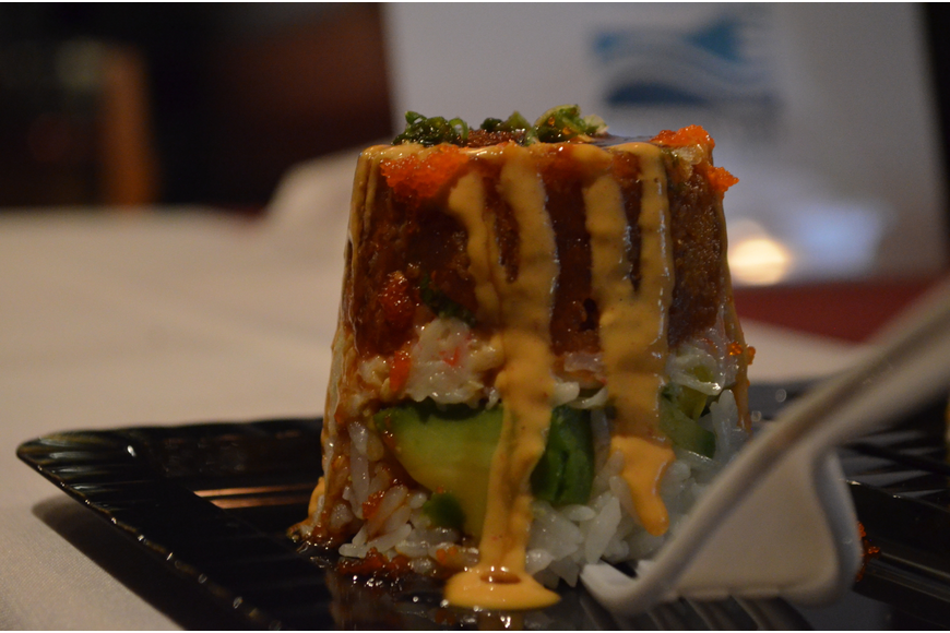 Tsunami Sushi was one of the participating restaurants featured at the kickoff event.