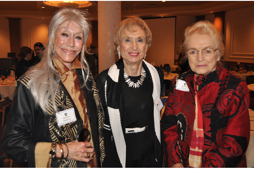 Beverly Albertson, Me-Me Kramer and Barbara Falcone