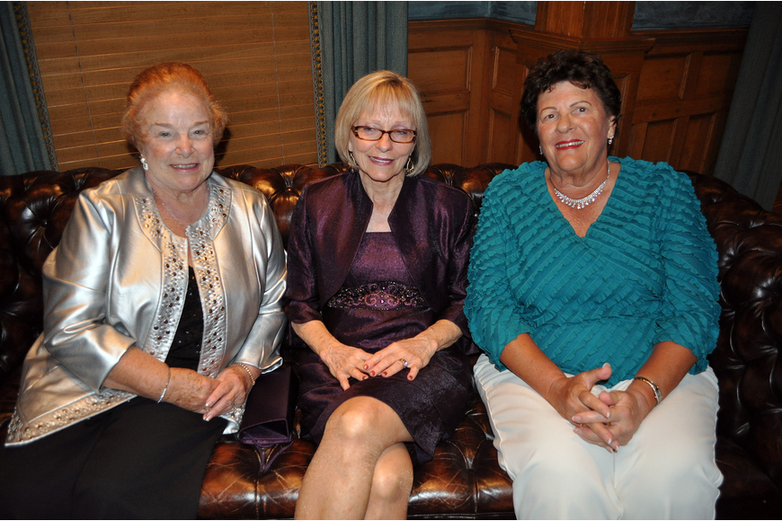 Muriel Diohep, Connie Thelen and Dorothy Pass