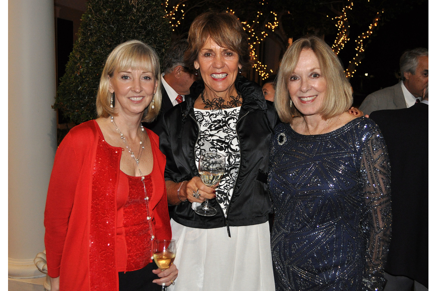 Olivia Thomas, executive director, Jane Krombeen and Sandy Strom